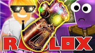 Roblox Infinity War - HOW TO BECOME THANOS! - Roblox Super Heroes