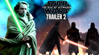 The Rise Of Skywalker Trailer 2 Exciting News Revealed! (Star Wars Episode 9 Trailer)
