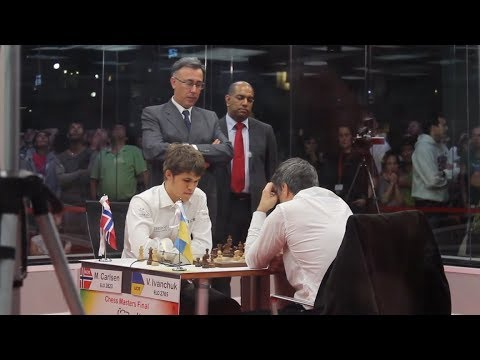 AMAZING ATTACKING!!! IVANCHUK VS CARLSEN | BLITZ CHESS BILBAO MASTERS 2011 GAME 2