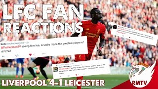 Liverpool v Leicester 4-1 | LFC Fan Reactions