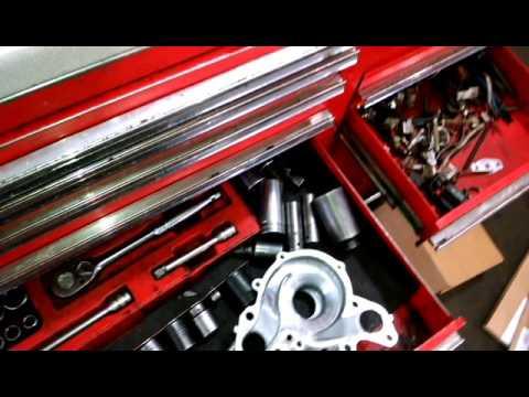 Timing belt replacement 2005 Mitsubishi Endeavor 3.0L V6 water pump replacing