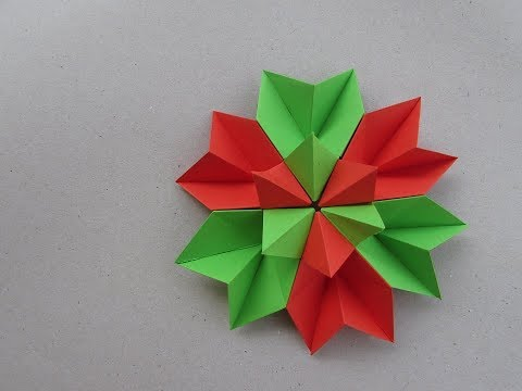How to make Paper Flower? Origami & Craft | Cindy DIY
