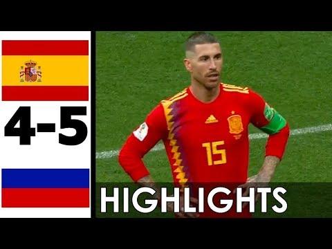🔥 Испания - Россия 1-1 (3-4) - Обзор Матча 1/8 Финала Чемпионата Мира 01/07/2018 HD 🔥