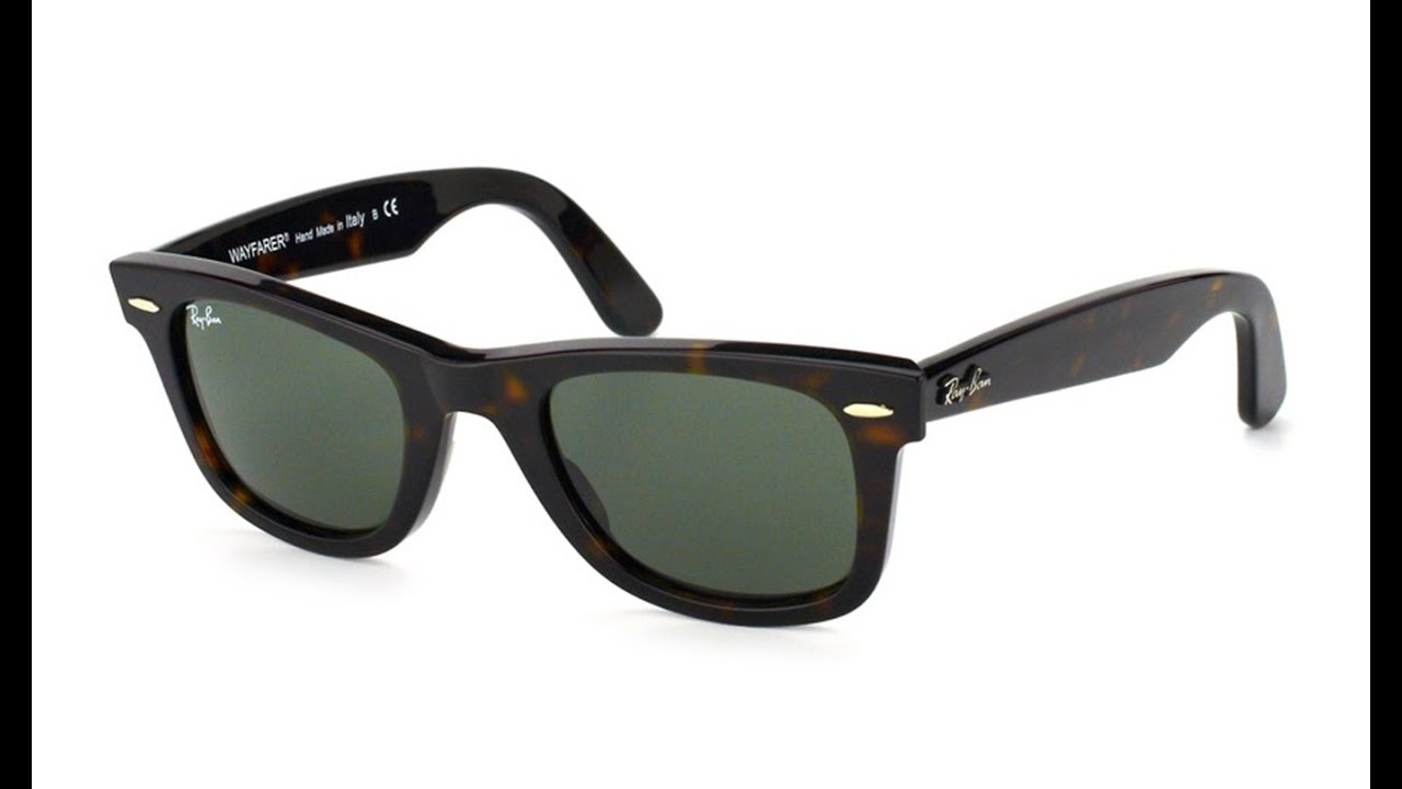 ray ban rb2140 wayfarer 902  Ray Ban Original Wayfarer RB2140 902 - YouTube