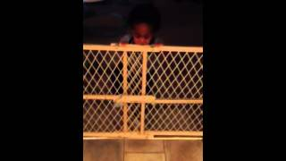 Baby Gate Gone Wrong