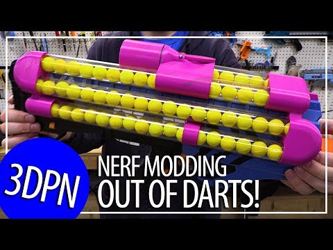 3D Printing Nerf Mods with Out Of Darts!