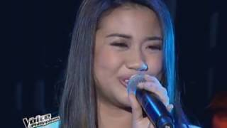 THE VOICE Philippines : Morissette Amon 'Dadalhin' Performance
