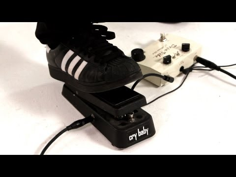 What Is a Wah Pedal?   Guitar Pedals