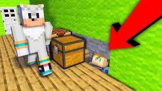 CHOWAŁEM SIE PRZED TRITSUSEM W JEGO DOMU XD   Minecraft Ferajna