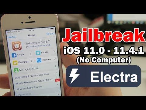 How to Jailbreak iOS 11 0 – 11 4 1 Using Electra & Install