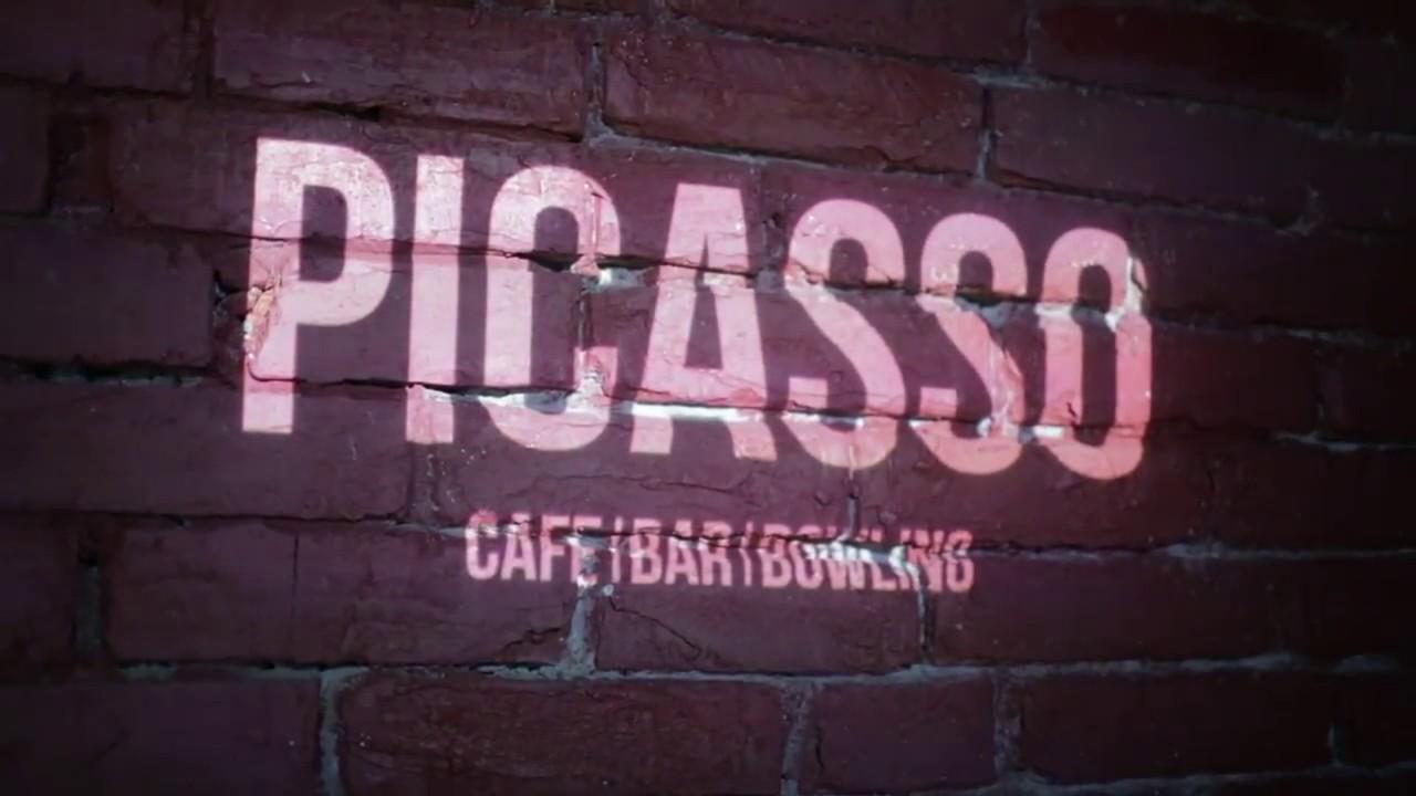 Корпоративный видеоролик, cafe karaoke bowling Picasso