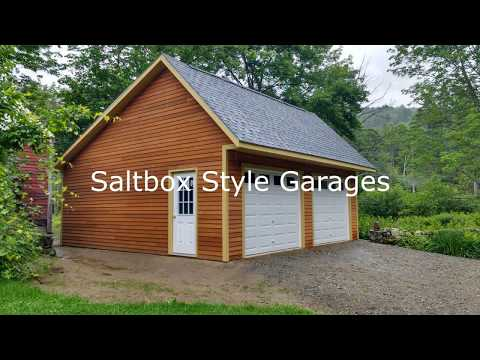 Salt Box and Carriage Shed Garages