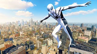 Spider-Man PS4 - Future Foundation Suit Epic Combat, Stealth & Free Roam Gameplay