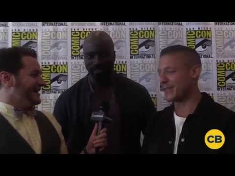 Luke Cage Interview: Mike Colter & Theo Rossi at SDCC 2016