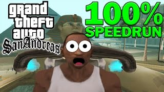 Grand Theft Auto: San Andreas 100% Speedrun