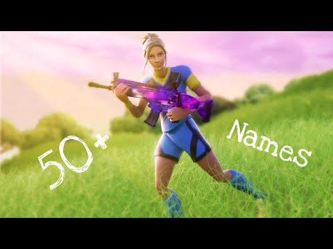 40+ Clean/Cool Sounding Fortnite Or Channel Names
