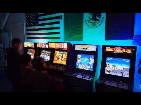 SosaFamBamBam - Arcade1up & MvsX -  Unboxing, Installing Light up Marquees, Raising the MvsX height from SosaFamBamBam Arcade