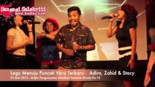Lagu Menuju Puncak Versi Terbaru   Adira, Zahid & Stacy