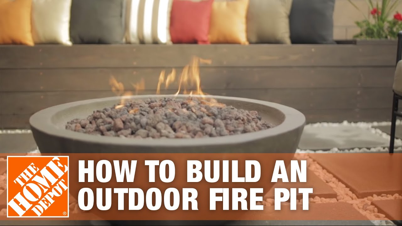 how to build a fire pit patio i patio style challenge youtube. Black Bedroom Furniture Sets. Home Design Ideas