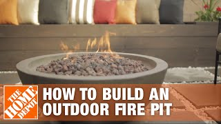 How To Build An Outdoor Fire Pit Area - The Home Depot