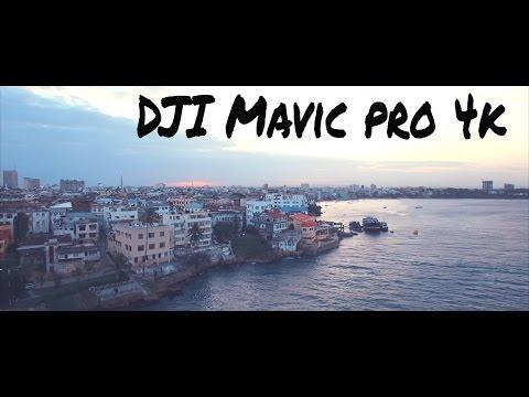 DJI mavic pro - Mombasa Island, Kenya in 4K