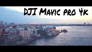 DJI mavic pro - Mombasa Island, Kenya in 4K [2016]