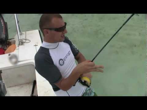 BONEFISH SALTWATER FLY FISHING (PAREDON CAYO ROMANO CAYO COCO JARDINES DEL REY CUBA OCTOBER 2010)