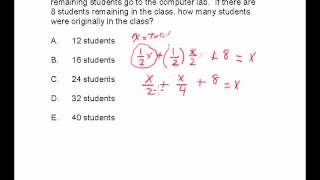 CBEST Math Practice Exam Number 22