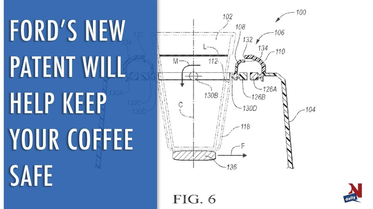 ford s new patent will keep your coffee safe youtube rh youtube com 2013 Ford Explorer Engine Diagram Ford Taurus 3.0 Engine Diagram