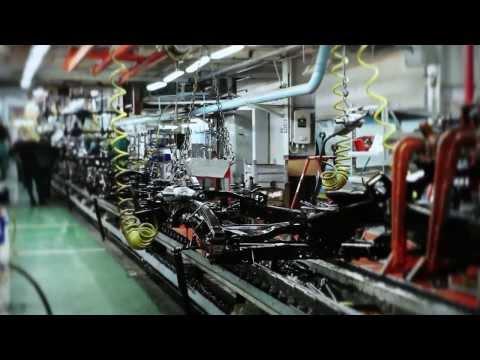 Как собирают уаз буханку на заводе видео
