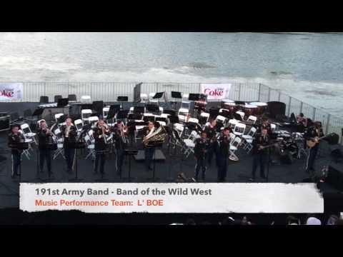 191st Army Band -L'BOE July 4th 201616 pt1(Ska Medley)