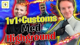 1v1+Customs med Highground🎯 ❗💯 Norsk Fortnite Stream