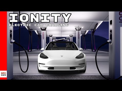 IONITY Electric Car Charing Stations