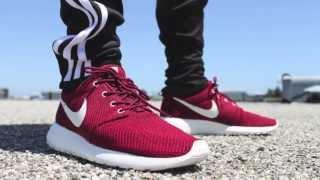 Sneaker Review: Nike Roshe Run Team Red/Sail