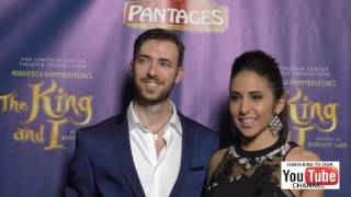 Gabrielle Ruiz at the King And I Opening Night at The Pantages Theatre in Hollywood