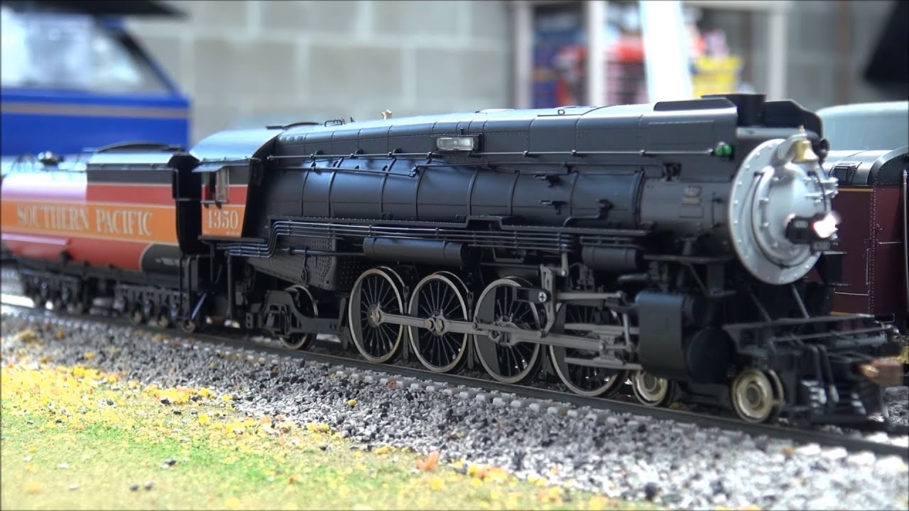 Review Athearn Mt 4 In Southern Pacific With Dcc And Tsunami