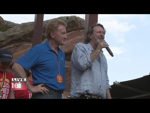 Widespread Panic singer John Bell pays tribute to Special Olympics