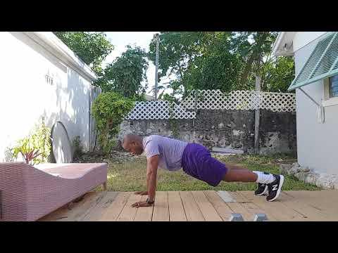 Outdoor Fitness Bahamas Bodyweight Tabata Christmas