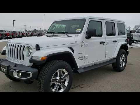 2020-jeep-wrangler-sahara-unlimited-bright-white-hard-top-walk-around-review-20j93-sold!-summitauto