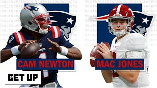 Cam Newton vs. Mac Jones: Who will Bill Belichick make the Patriots' Week 1 starter? | Get Up