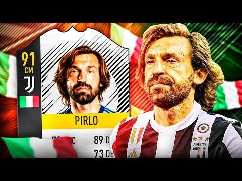LEGENDA 91 PIRLO! FIFA 18 ULTIMATE TEAM