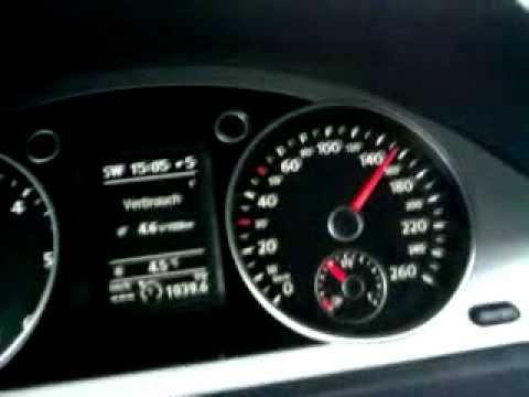 Volkswagen Passat B6 2 0 Tdi Bluemotion 2009 80 Km H To 180 Km H Youtube