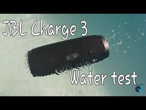 JBL Charge 3 - Water test