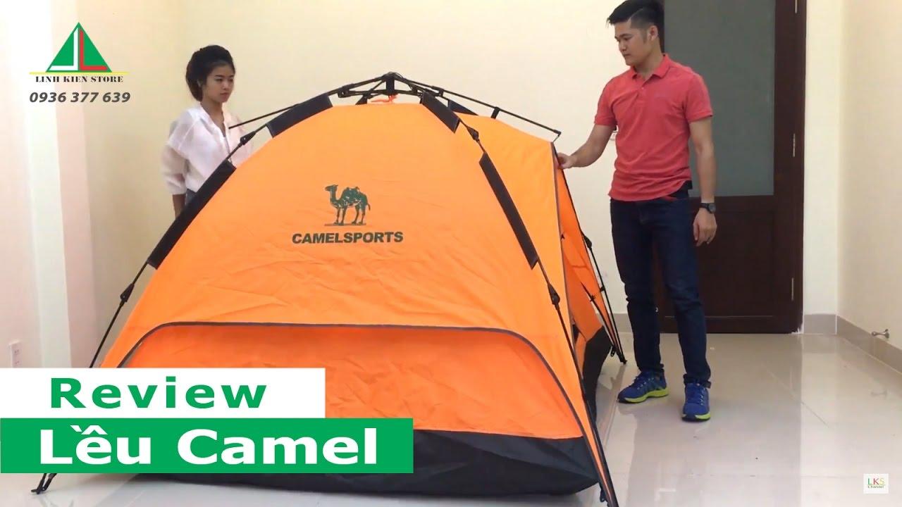 Hướng dẫn dựng lều du lịch cắm trại Camel 2 lớp dành cho 4 người
