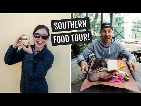 Southern Food Tour In Charleston, SC | Biscuits, BBQ, Fried Green Tomatoes, & More!