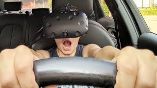 AUTORIJDEN IN VR !! | City Car Driving #8 (HTC Vive)