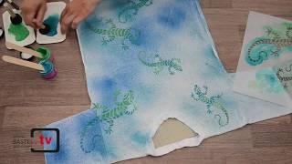 Textilfarbe für junges Design