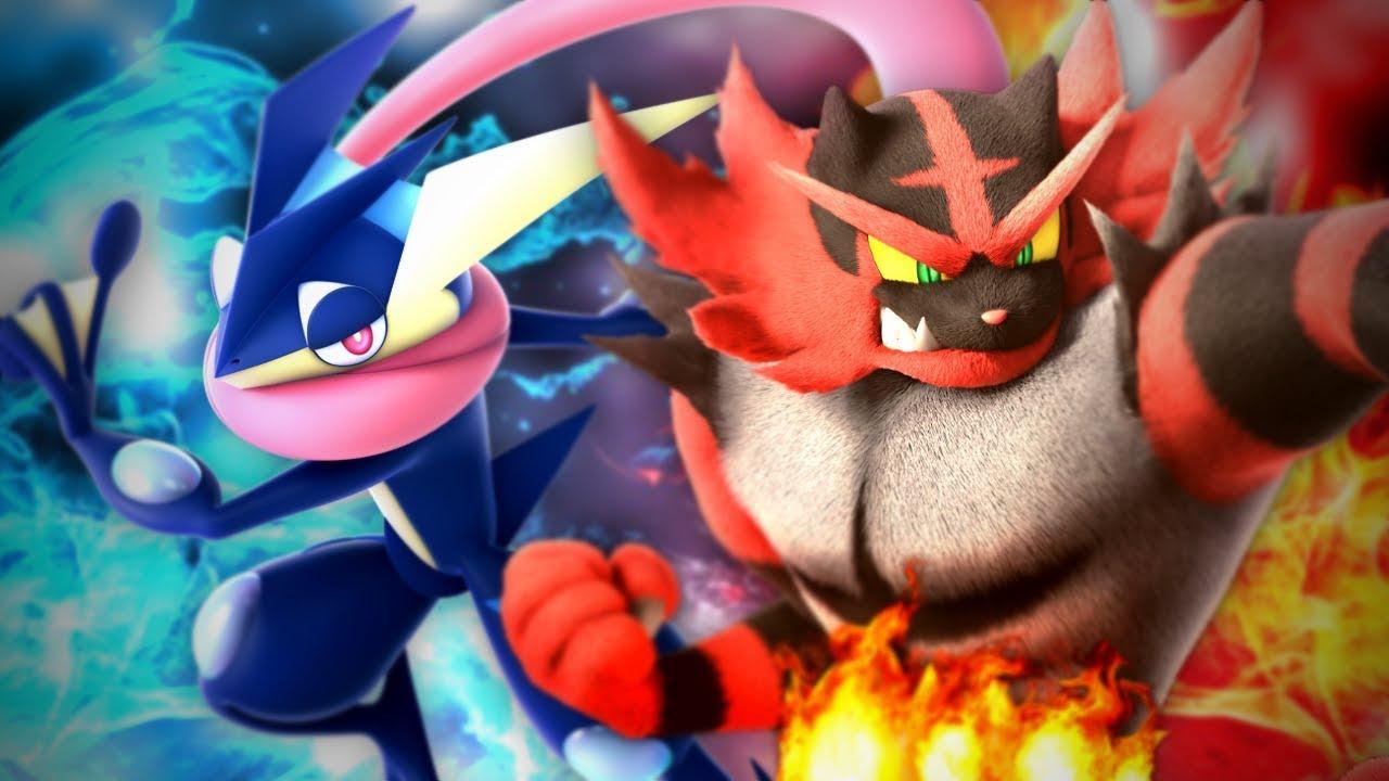 Greninja vs Incineroar. Epic Rap Battles of Pokemon #21.