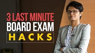 Last Minute Board Exam Tips & Hacks (2018)