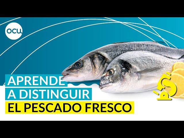 Las 3 normas infalibles para reconocer el pescado fresco
